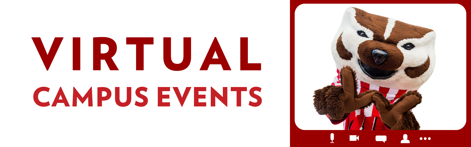 Virtual Campus events on Visit Bucky